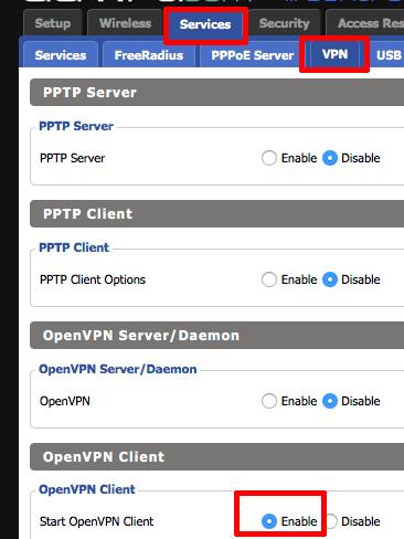 DD-WRT | Celo VPN Help Center