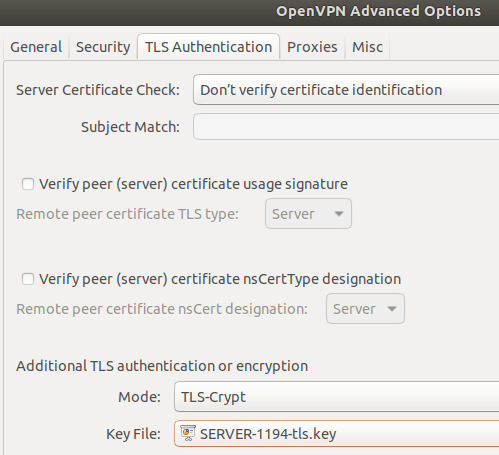 gnome-openvpn-tls-auth-settings