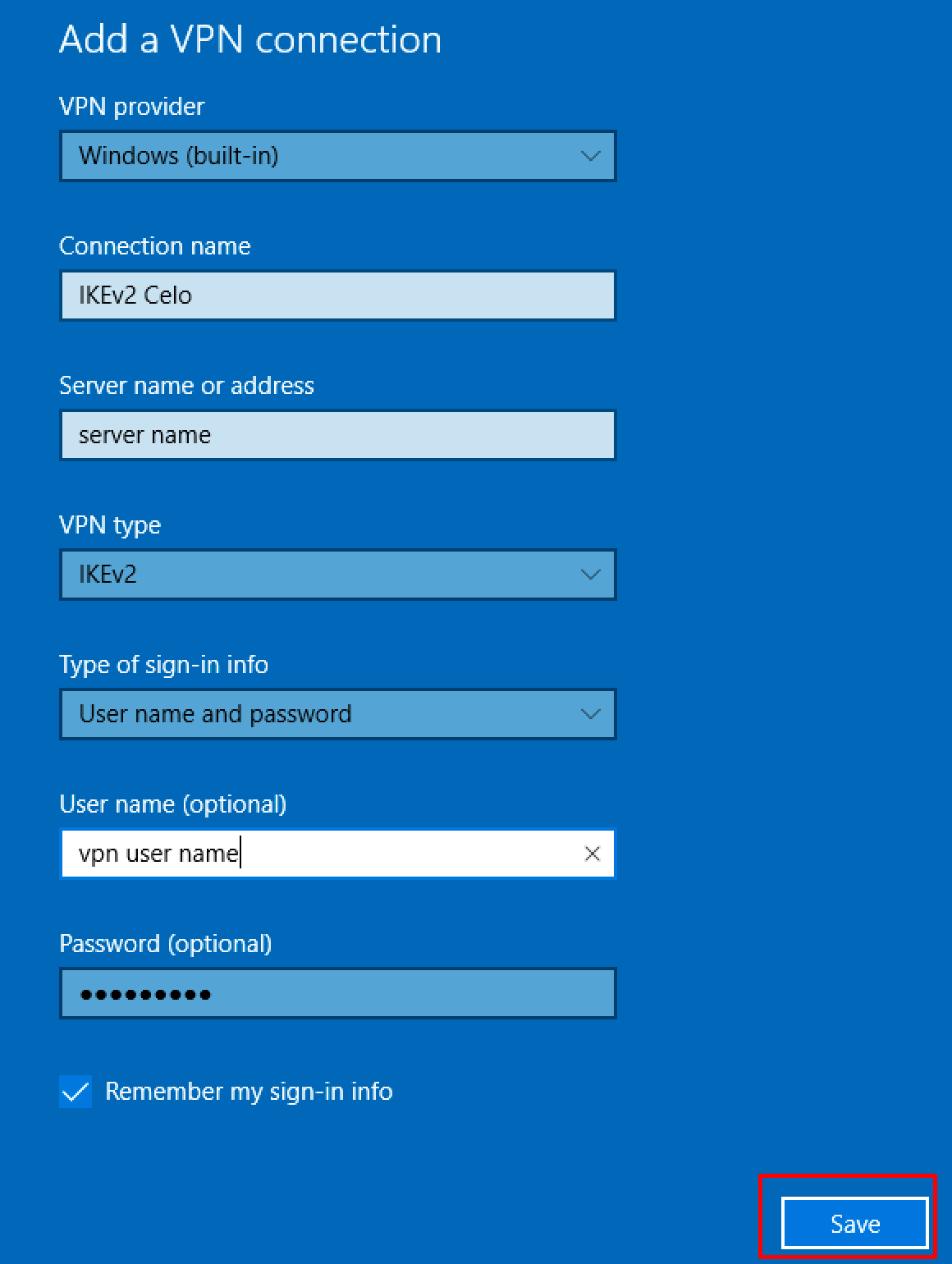 ikev2-windows-10-vpn-settings