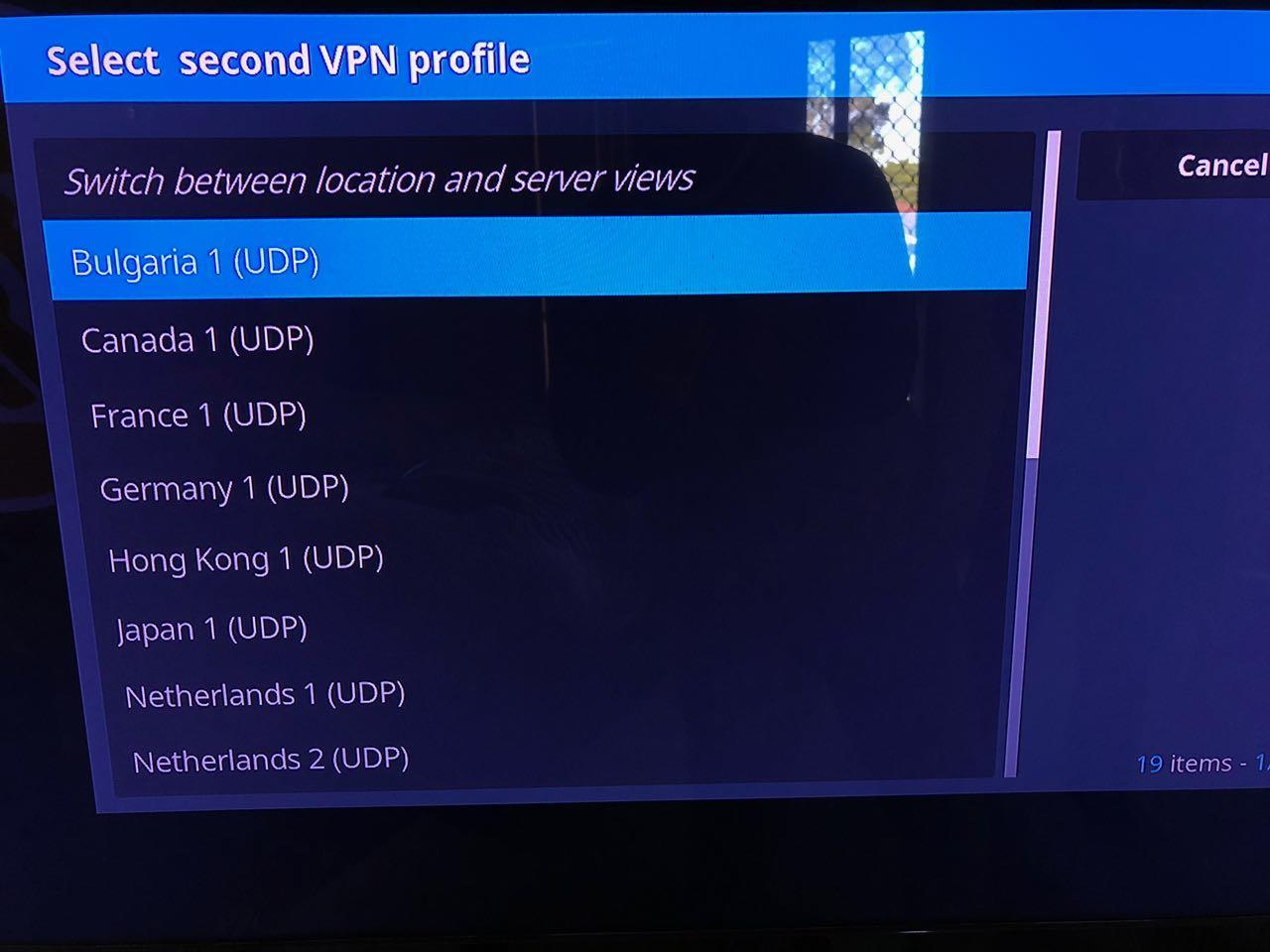 how to connect to kodi server