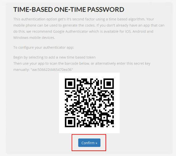 two-factor-one-time-password