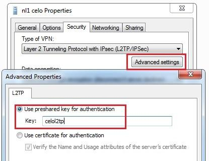 windows 7 vpn advanced settings