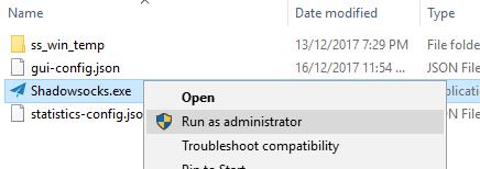 windows-shadowsocks-run-as-admin