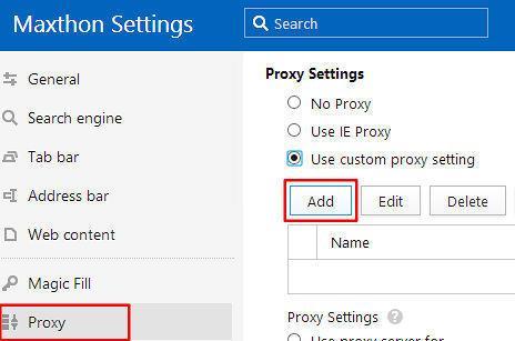 maxthon-proxy-settings