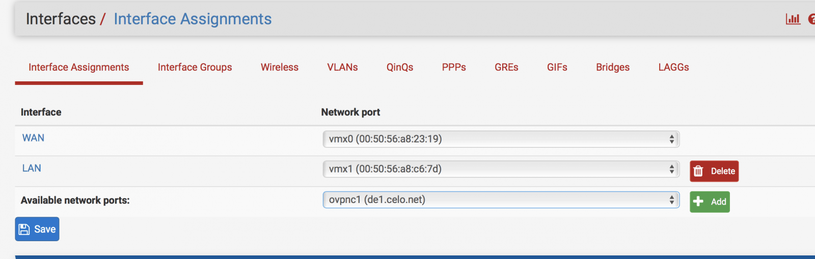 PFSense - Knowledgebase - Celo VPN